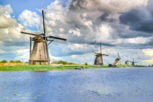 Los molinos de kinderdijk, lo más fotografiados de Holanda